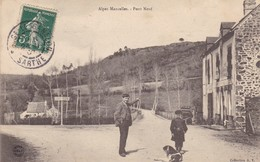 72. SOUGE LE GANELON(ENVOYE DE). CPA. ALPES MANCELLES. ANIMATION PONT NEUF. ANNÉE 1907 - France