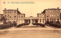 Jette - Hôpital Brugman - Entrée Avec Monument - Jette