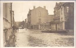 Wanze ?(chaussee De Wavre?)huy Innondations Photo Carte  Puvrez Huy - Huy