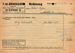 3479 - F.M. Bemmann Mittweida - Rechnung Stempel - Deutschland