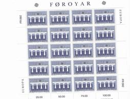 FOROYR Nº 91 AL 92 - Europa-CEPT