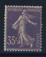 FRANCE    N°    136 - 1906-38 Semeuse Camée