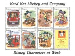 Guyana Disney Mickey Hard Hat Construction MNH ** SC (A52-108) - Disney