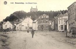 Beauraing - La Grand'Place (animation, Attelage, Imprimerie) - Beauraing