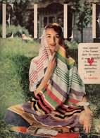 Elle N°247 Travaille Du Chapeau - Découpez, Collez, Tirez Et Découvrez Votre Avenir Dans Ces Cartes Divinatoires De 1950 - Fashion