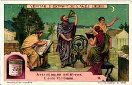 1110  Liebig 6 Cards C1921  Astronomers-Aristoteles-Ptolémée-Mercator-Jean Kepler-Galilée-Schiaparelli - Liebig