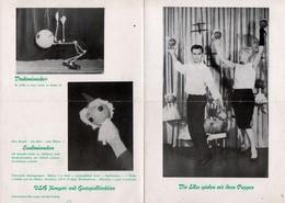 C1745 - Die Elles - Programmheft Programm Puppenspiel Puppenspieler - VEB Konzert Und Gastspieldirektion - Programs
