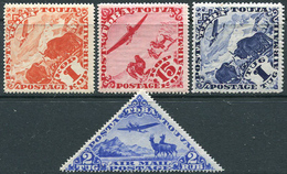 Tuva 1934. Michel #49,52,56,57-LOT VF/MNH. Airplanes. (Ts21) - Tuva