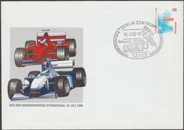 Allemagne 1999. Entier Postal Timbré Sur Commande Formule 1 - Cars