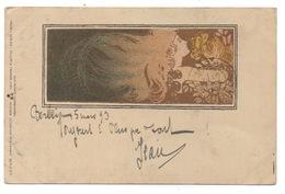 Art Nouveau Femme  Philipp & Kramer Koloman Moser - Moser