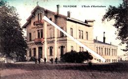 VILVORDE - L'Ecole D'Horticulture - Carte Colorée - Vilvoorde