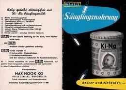 C1747 - Max Nook Halle - Werbeheft Werbung Reklame - KI - NA Säuglingsnahrung - Werbung