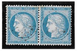 TIMBRE N)  60/1  PAIRE  138/139 A2 ;TTB - 1871-1875 Ceres