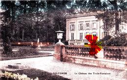 VILVORDE - Le Château Des Trois-Fontaines - Carte Colorée - Vilvoorde