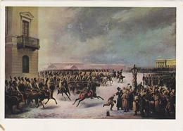 USSR V.Timm, The Revolt Of December 14th, 1825. Horses Horse Chevaux Cheval Caballos Cavalli Pferde Pferde Paarden - Grèves