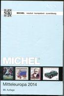 4370 - MICHEL-Mitteleuropa 2014 - Gut Erhalten Mit Nur Leichten Gebrauchsspuren - Stamp Catalogues