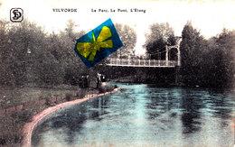 VILVORDE - Le Parc, Le Pont, L'Etang - Carte Colorée Et Animée - Vilvoorde