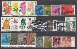 Great Britain 1976 - Year Set (commemorative Issues), MNH** - Neufs