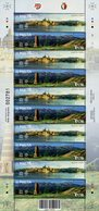 Malta - 2018 - UNESCO World Heritage - Valletta City And Burana Tower - Joint Issue With Kyrgyzstan - Mint Stamp Sheet - Malte