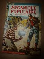 1949 MÉCANIQUE POPULAIRE:La Recherche De L'or; Les Automobiles De Chez  Chrysler ; Faire Des Escaliers En Béton ; Etc - Books, Magazines, Comics