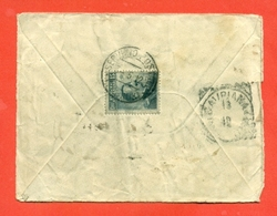 -CIRENAICA-SERVIZIO POSTALE TOBRUK-PER CAVRIANA - 3/5/1912 - Cirenaica