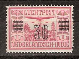 Nederlands Indie Netherlands Indies Luchtpost 11 MLH ; Vliegtuig, Flugzeug, Avion, Airoplane Airplane 1930 - Vliegtuigen