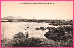 Guinée Française - Konakry - Boulbine Et Les Iles De Los - Voilier - Bateau - Animée - Photo FORTIER - French Guinea