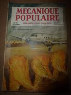 1949 MÉCANIQUE POPULAIRE:Secret Du Tir à L'arc ;Petits Travaux Du Cuir;Petites Voitures Anglaises;Arbres De 3000 Ans;etc - Books, Magazines, Comics