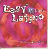 CD Single. Easy Latino. 13 Titres - Offert Par France Telecom. CANA CRAVA - GUANTANAMERA - SONANDO - LA BAMBA - Music & Instruments