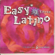 CD Single. Easy Latino. 13 Titres - Offert Par France Telecom. CANA CRAVA - GUANTANAMERA - SONANDO - LA BAMBA - Musique & Instruments