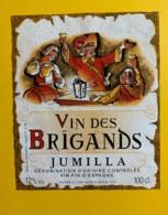 9720 - Vin Des Brigands Jumilla Espagne - Etiquettes