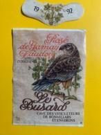 9724 - Le Busard Rosé De Gamay 1992 Suisse - Etiquettes