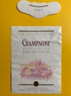 9725 - Champagne 1995 Suisse - Etiquettes