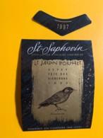 9726 - Vevey Fête Des Vignerons 1999 Le Jardin D'Orphée St-Saphorin Suisse Etourneau - Etiquettes