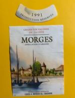 9728 - Morges 1991 Suisse - Bateaux à Voile & Voiliers
