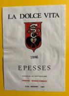 9736 - La Dolce Vita 1996 Suisse Illustration Pier Geering - Art