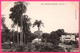 Guinée Française - Konakry - Vue Du Village - Animée - Photo FORTIER - French Guinea