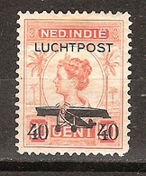 Nederlands Indie Netherlands Indies Luchtpost 3 MLH ; Vliegtuig, Flugzeug, Avion, Airoplane Airplane 1928 - Vliegtuigen