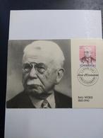 Batty Weber 1860-1940  , Journaliste Et Auteur - Maximum Cards