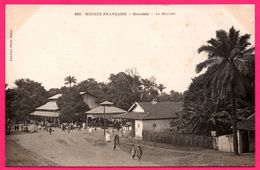 Guinée Française - Konakry - Le Marché - Animée - Photo FORTIER - French Guinea