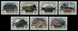 Kap Verde 1987 - Mi-Nr. 516-522 ** - MNH - Tourismus - Cap Vert