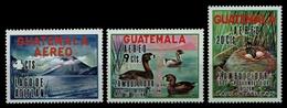 Guatemala 1970 - Mi-Nr. 886-888 ** - MNH - Enten / Ducks - Guatemala