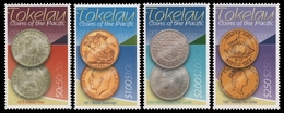 Tokelau 2009 - Mi-Nr. 394-397 ** - MNH - Münzen / Coins - Tokelau