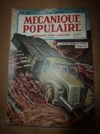 1949 MÉCANIQUE POPULAIRE:La Chevrolet 1949;Chiens De Course Attelés;Ruée Sur Uranium;Avec Un Appareil Photo; Etc - Books, Magazines, Comics