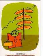 BRY Agence Publicite Levallois Perret Franck Lachaise, Lyon Carole Giroud, Conviction N°6 L'argent De Nos Client Compte - Illustrateurs & Photographes