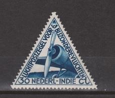 Nederlands Indie Netherlands Indies Luchtpost 18 MLH ; Vliegtuig, Flugzeug, Avion, Airoplane Airplane 1933 - Vliegtuigen