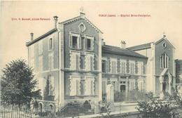 CPA 38 VINAY L 'Hopital Brun Faulquier EDIT.P.BONNET.CLICHE PREAUD VOIR IMAGES - Vinay