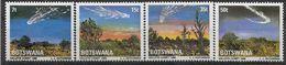 1986 BOTSWANA 528-31**  Comète De Halley - Botswana (1966-...)