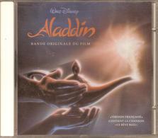 """CD. BO Film : ALADDIN. Walt Disney, VERSION FRANCAISE - Inclus La Chanson """"CE RÊVE BLEU"""" Par Karine COSTA Et Daniel LEVI - Musique De Films"""