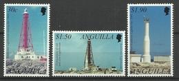 ANGUILLA 2002 LIGHTHOUSES SET MNH - Vuurtorens